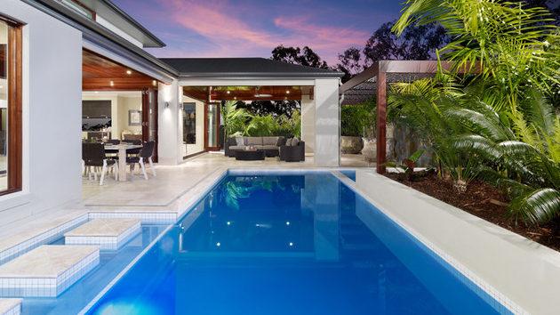 Lưu ý thiết kế bể bơi cho biệt thự sang trọng